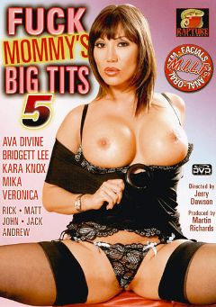 "Adult entertainment movie ""Fuck Mommy's Big Tits 5"" starring Ava Devine, Bridgett Lee & Jack Vegas. Produced by Rapture Entertainment."