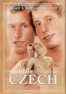 Double Czech 2009, starring Konrad Richter, Adam Richter, Nikolas Rezac, Viktor Kana, Matthus Reinhardt and Bjorn Gedda, produced by William Higgins.