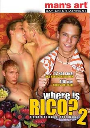Where Is Rico 2, starring Rico Hoffman, Lukas Trent, Sonny Conrad, Basti Oliver, Marco West, Philipe Marcus, Bastieen Tessier, Alex Bastala, Adrian Winter, Kriss Stahl, Ronald Laska, Tommy Mathern and Ernest Blue, produced by XY Studios and Man's Art Studio.
