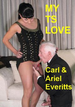 "Adult entertainment movie ""My TS Love"" starring Ariel Everitts & Carl Hubay. Produced by Hot Shemales Video."