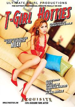 "Adult entertainment movie ""T-Girl Hotties"" starring Muay, Beer (o) & Alexsander Felix. Produced by Ultimate T-Girl Productions."