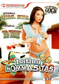 "Adult entertainment movie ""Latina Mommasitas"" starring Candy Estefana, Angel Amor & Dana Vespoli. Produced by Pandemonium."