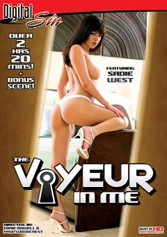 "Adult entertainment movie ""The Voyeur In Me"" starring Sadie West, Heather Starlet & Kirra Kiss. Produced by Digital Sin."