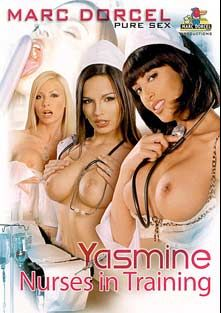Yasmine A L'ecole  D'infirmieres, starring Helena G., Yasmine (II), Bambi, Valentina Blue, Alex Forte, Mr. Clark, Jenny Baby, Eve Angel and Evan Rochelle, produced by Marc Dorcel.