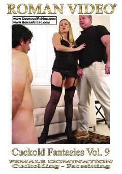 "Adult entertainment movie ""Cuckold Fantasies 9"" starring Harmony Rose, Freddy Baxter & Frank Towers. Produced by Roman Video."