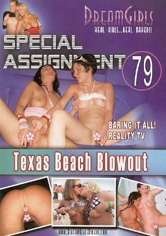 "Adult entertainment movie ""Special Assignment 79: Texas Beach Blowout"" starring Jessica Jones (II) & Jessica (Dream Girls). Produced by Dream Girls."