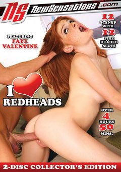 "Adult entertainment movie ""I Love Redheads Part 2"" starring Faye Reagan, Dani Jensen & Kiki Vidis. Produced by New Sensations."