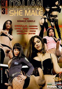 "Adult entertainment movie ""Italian She Male 27"" starring Camilla Jolie, Susy (o) & Oldiar Daniel. Produced by Pinko Enterprises."