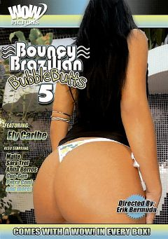 "Adult entertainment movie ""Bouncy Brazilian Bubble Butts 5"" starring Ely Caribe, Sara Trei & Petra Coni. Produced by Magnus Productions."