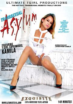 "Adult entertainment movie ""Transsexual Asylum"" starring Kamila Smith, Giovanna Secret & Robert Gaucho. Produced by Ultimate T-Girl Productions."