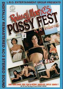 Rodney Moore's Pussy Fest Of The Northwest 4, starring Samira, Hillary Van Wettering, Samantha Bush, Athena, Jasmine Johnson, Cassandra O., Big Vic, Sandy Lue and Rodney Moore, produced by LBO.