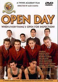 Open Day, starring Rodrigo Garcia, Pedro Gonzales, Marcos Isaza, Luis Salazar, Julio Fernandez, Juan Carlos Giraldo, Cleto Granados, Carlos Isaza, Gabriel Valderrama, Roberto Rodrigues and Juan Moreno, produced by Twink Academy Films.