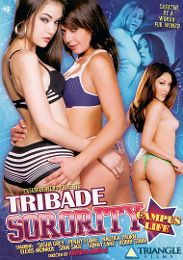 "Featured Star - Sasha Grey presents the adult entertainment movie ""Tribade Sorority: Campus Life""."
