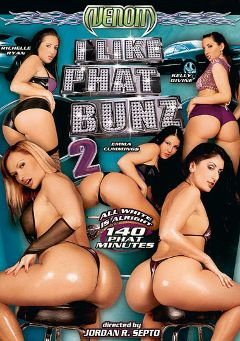 "Adult entertainment movie ""I Like Phat Bunz 2"" starring Kelly Divine, Emma Cummings & Richelle Ryan. Produced by Venom Digital Media."