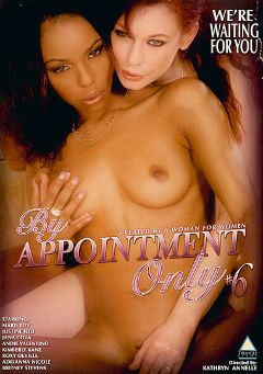 "Adult entertainment movie ""By Appointment Only 6"" starring Justine Joli, Marie Luv & Andie Valentino. Produced by Triangle Films."