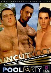 Gay Adult Movie Uncut Cock Pool Party Part 2