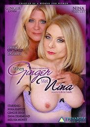 """Featured Category - Lesbian presents the adult entertainment movie """"When Ginger Met Nina""""."""