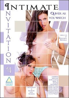 "Adult entertainment movie ""Intimate Invitation 4"" starring Kayla Synz, Joelean & Michelle Avanti. Produced by Triangle Films."
