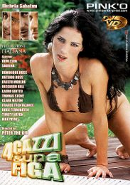 """Just Added presents the adult entertainment movie """"4 Cazzi And Una Figa""""."""