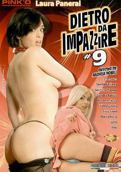 "Adult entertainment movie ""Dietro Da Impazzire 9"" starring Laura Panerai, John Free & Teo. Produced by Pinko Enterprises."