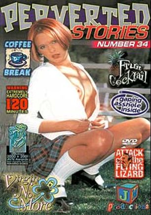 Perverted Stories 34, starring Keegan Skky, Ashley Blue, Brandy Starz, Nikko Night, Angel Long, Mr. Pete, Joel Lawrence, Johnny Thrust, Rick Masters and Byron Long, produced by JM Productions.