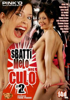 "Adult entertainment movie ""Sbatti Melo Nel Culo 2"" starring Lily Love, Roberto & Max Payne. Produced by Pinko Enterprises."