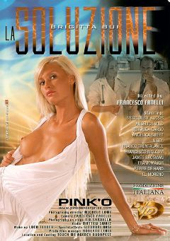 "Adult entertainment movie ""La Soluzione"" starring Brigitta Bui, Fausto Moreno & Pierre DJ. Produced by Pinko Enterprises."
