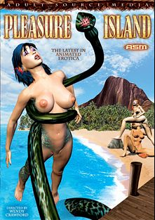 Pleasure Island, starring Anime (II) (f) and Anime (f), produced by Adult Source Media.