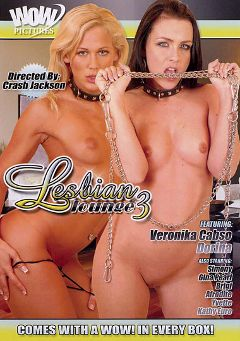 "Adult entertainment movie ""Lesbian Lounge 3"" starring Dorina, Sophie Angel & Kathy Euro. Produced by Magnus Productions."