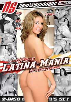 "Adult entertainment movie ""Latina-Mania Part 2"" starring Lorena Sanchez, Jenny Lopez & Alexa Jordan. Produced by New Sensations."