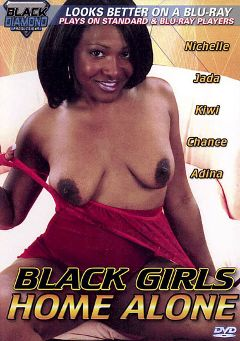 "Adult entertainment movie ""Black Girls Home Alone"" starring Nichelle Lanier, Chance & Jada. Produced by Totally Tasteless Video."