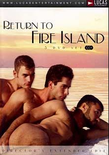 Return To Fire Island, starring Jackson Wild, Wilfried Knight, Michael Lucas, Travis Irons, Mike Dreyden, Luca Ciccone, Jacob Samson, Danny Delta, Ben Andrews, Rusty Stevens, Ryan Raz, Andy Kay, Rafael Alencar, Jason Crew, Nick Capra and Rod Barry, produced by Lucas Entertainment.