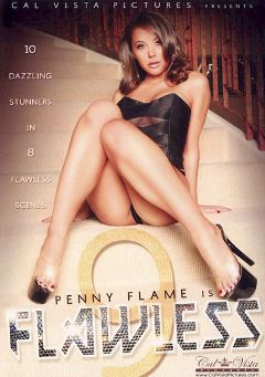 "Adult entertainment movie ""Flawless 9"" starring Penny Flame, Jean Val Jean & Barry Scott. Produced by Cal Vista Pictures."