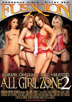 "Adult entertainment movie ""All Girl Zone 2"" starring Frankie Dashwood, Ashley Steel & Alexis Love. Produced by Metro Media Entertainment."