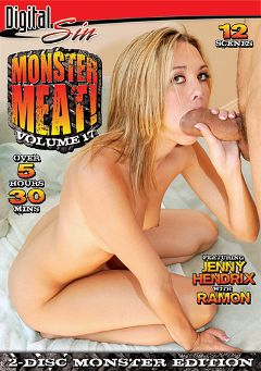 "Adult entertainment movie ""Monster Meat 17 Part 2"" starring Jenny Hendrix, Jada Stevens & Kelly Divine. Produced by Digital Sin."