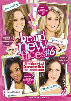 "Adult entertainment movie ""Brand New Faces 6"" starring Veronica Hill, Maxine Tyler & Lisa Belize. Produced by Vivid Entertainment."