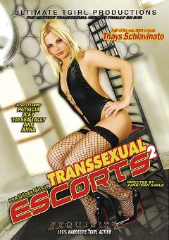 "Adult entertainment movie ""Transsexual Escorts 2"" starring Thais Schiavinato, Thayssa Tallian & Alyssa (o). Produced by Ultimate T-Girl Productions."