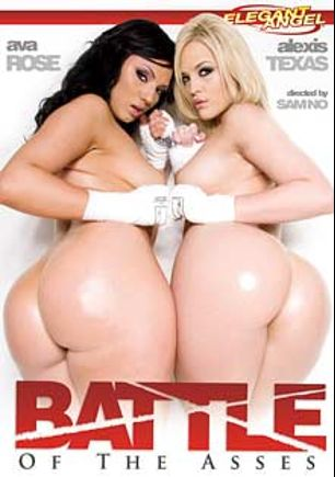 Battle Of The Asses, starring Alexis Texas, Ava Rose, Kelly Divine, Kristina Rose, Rachel Starr, Cherokee Da' Ass, Marco Banderas, Michael Stefano, Manuel Ferrara, Mark Ashley and Pinky, produced by Elegant Angel Productions.