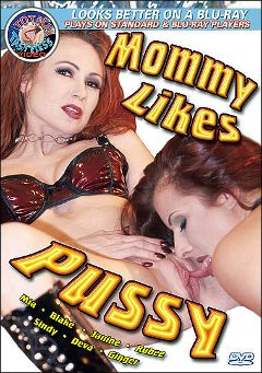 "Adult entertainment movie ""Mommy Likes Pussy"" starring Deva Station, Ginger Paige & Janine (II). Produced by Totally Tasteless Video."