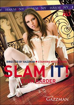"Adult entertainment movie ""Slam It Even Harder"" starring Missy Stone, Mina Lee & Charlotte Vale. Produced by Harmony Films Ltd.."