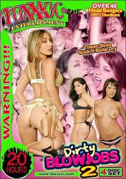 """Just Added presents the adult entertainment movie """"Dirty Blowjobs 2""""."""