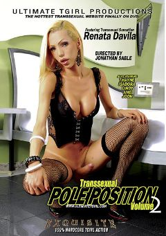 "Adult entertainment movie ""Transsexual Pole Position 2"" starring Renata Davila, Isadora Venturini & Thayana De Castro. Produced by Ultimate T-Girl Productions."