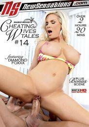 "Featured Series - Cheating Wives Tales presents the adult entertainment movie ""Cheating Wives Tales 14""."