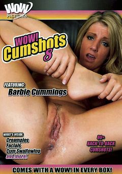 "Adult entertainment movie ""Wow Cumshots 8"" starring Barbi Cummings, Jaklynn Sinz & Laura Mint. Produced by Wow Pictures."
