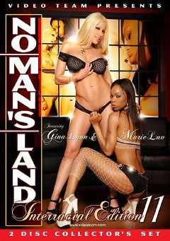 "Adult entertainment movie ""No Man's Land Interracial Edition 11 Part 2"" starring Marie Luv, Gina Lynn & Tori Black. Produced by Metro Media Entertainment."