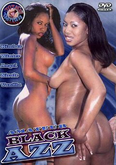 "Adult entertainment movie ""Amateur Black Azz"" starring Kimber, Winter & Vanilla. Produced by Totally Tasteless Video."