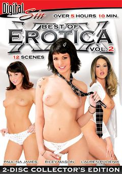 "Adult entertainment movie ""Best Of Erotica XXX 2 Part 2"" starring Paulina James, Riley Mason & Lauren Phoenix. Produced by Digital Sin."