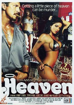 "Adult entertainment movie ""Heaven"" starring Lanny Barbie, Kayla Paige & Jasper Night (m). Produced by Vivid Entertainment."