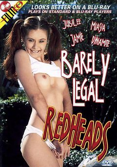 "Adult entertainment movie ""Barely Legal Redheads"" starring Jubilee, Jamie Fuckingham & Miasia Cross. Produced by Filmco."