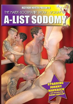 Gay Adult Movie The Mandy Goodhandy Show 50: A-List Sodomy